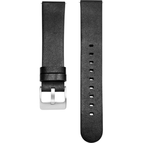 Noerden Leather Smart Watch Band Black (1)